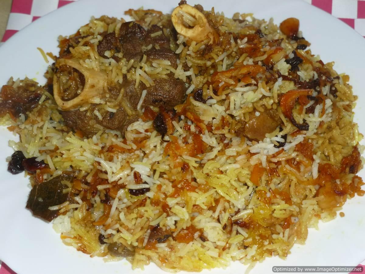 Afghani Pulao