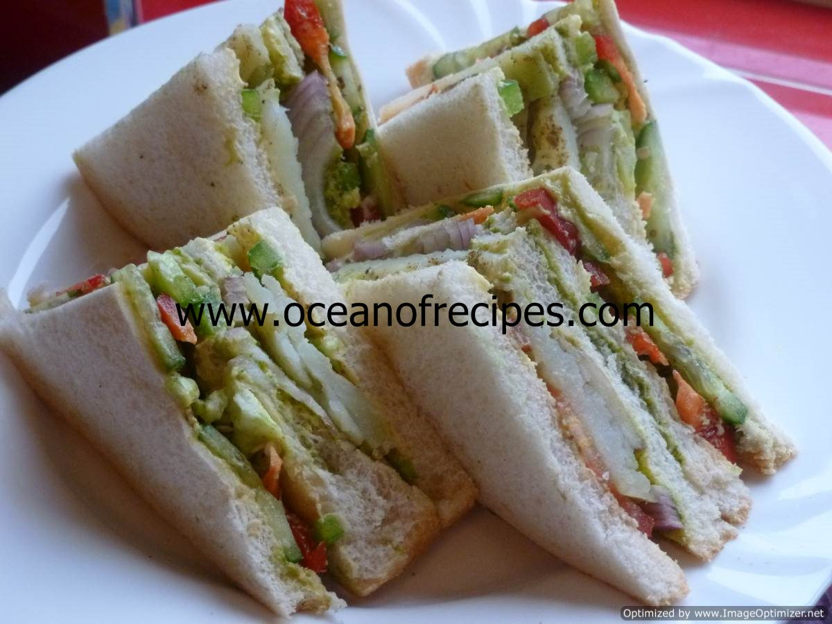 Mumbai Sandwich Recipe — Dishmaps