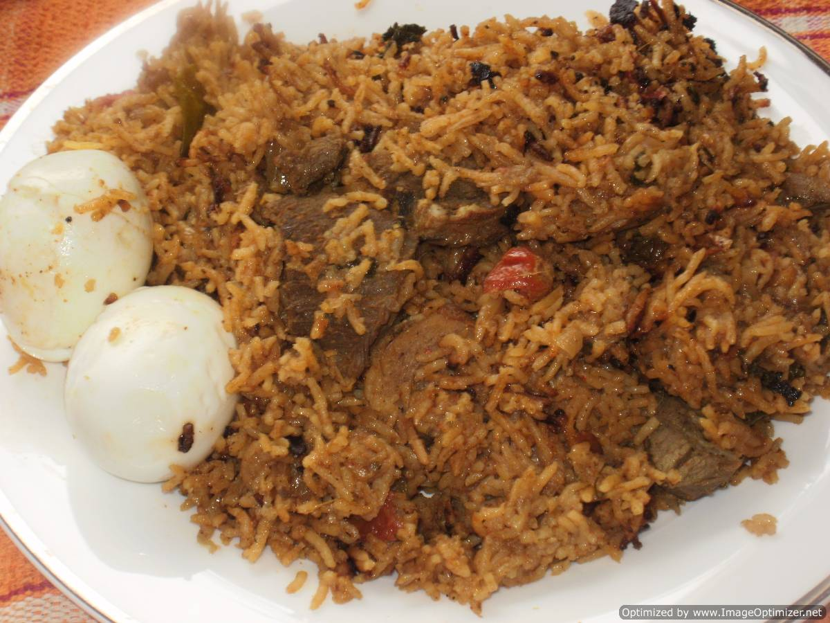 Easy Mutton Biryani