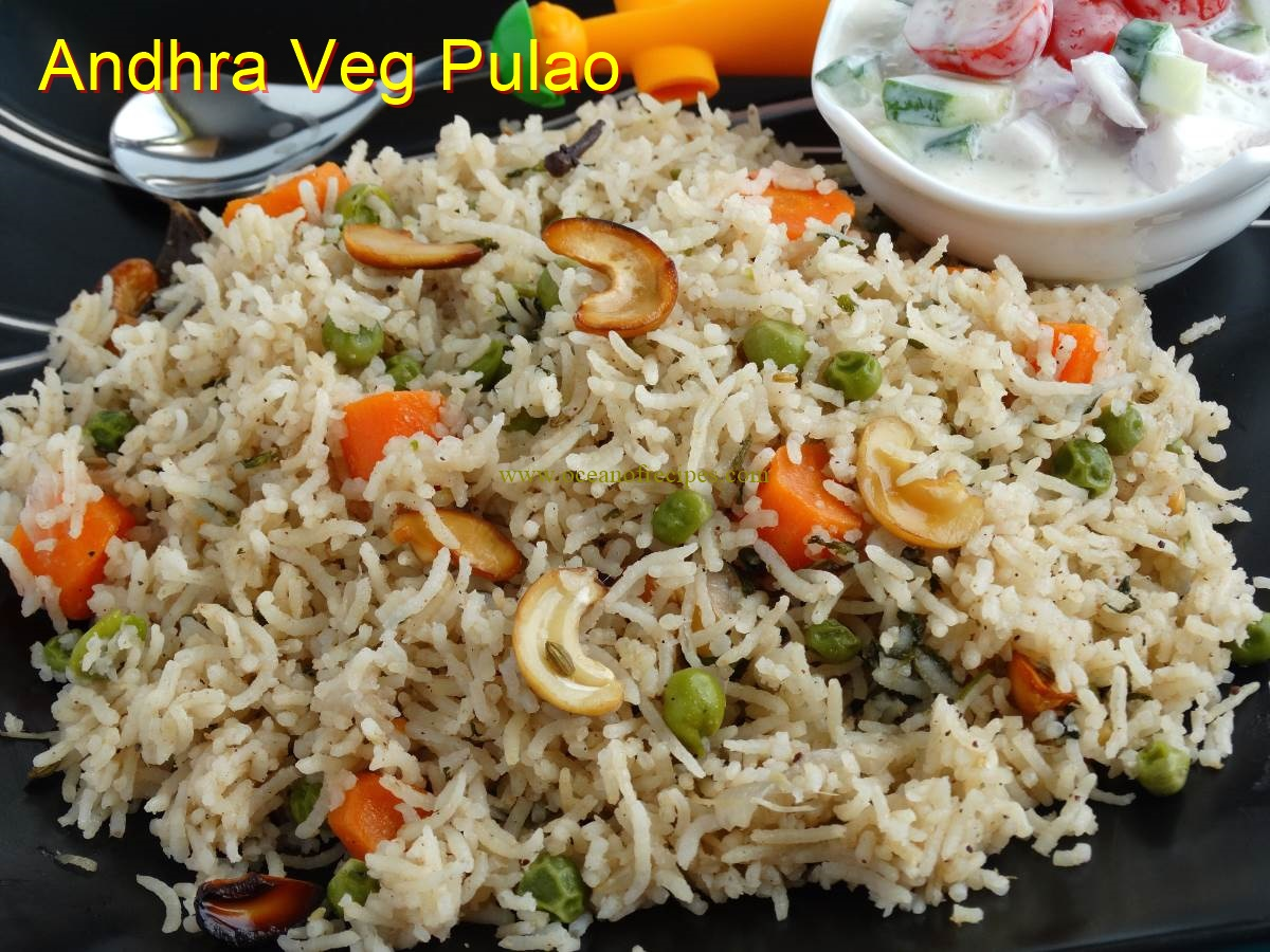 Ocean of recipes andhra style veg pulao forumfinder Choice Image