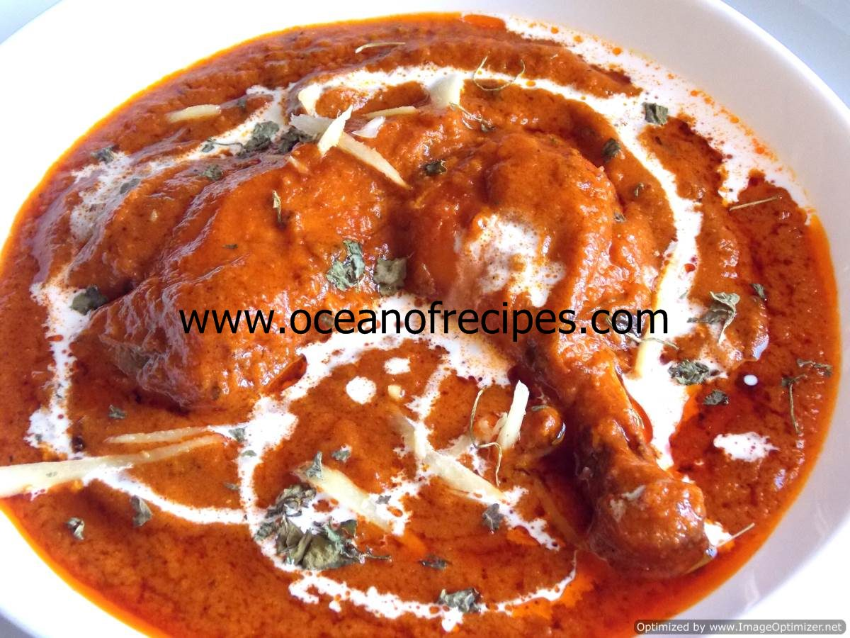 Butter chicken indian recipe in tamil