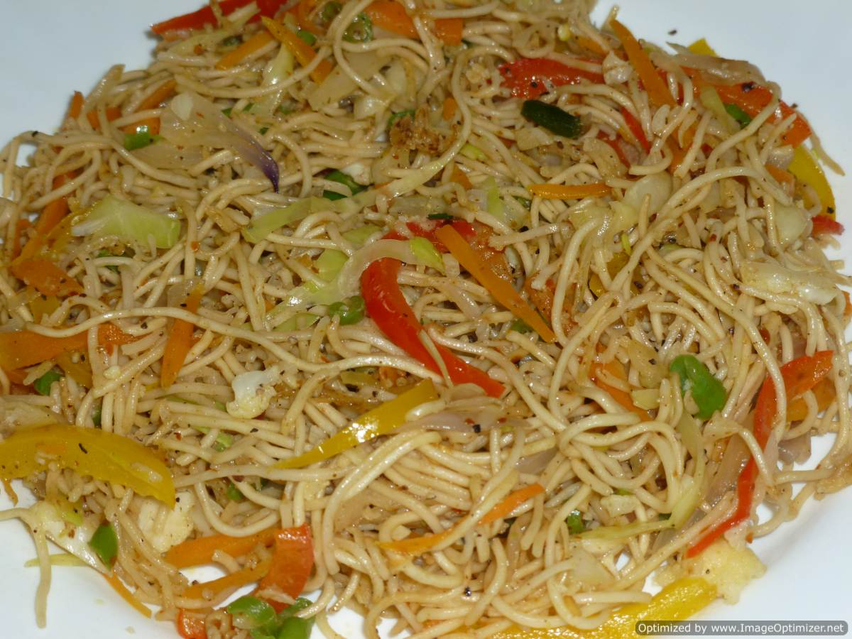 noodles stir fried indian fry chinese recipes prik pao crispy rice chicken dishmaps nam vegetarian recipe chilli indo veg dry
