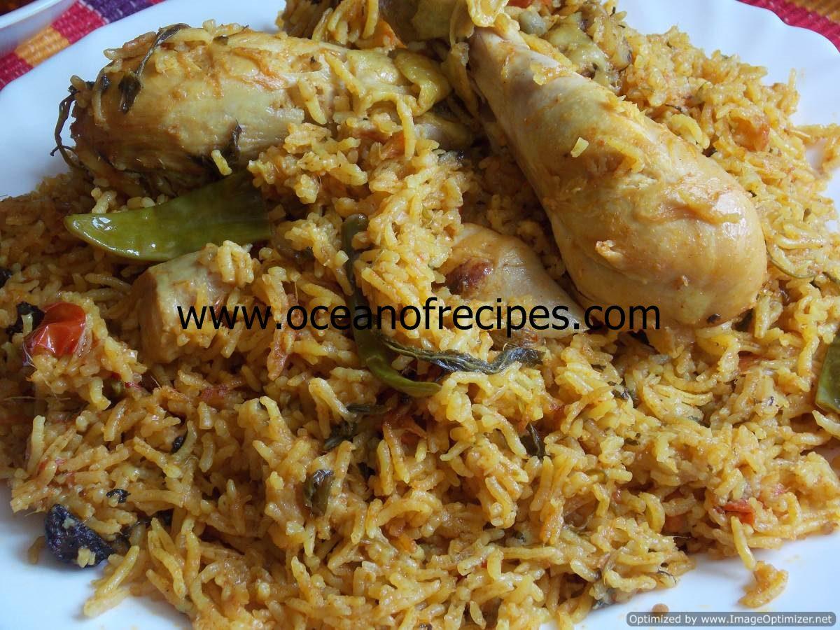 Ambur Biryani Recipe Tamilnadu Style Dandk Organizer