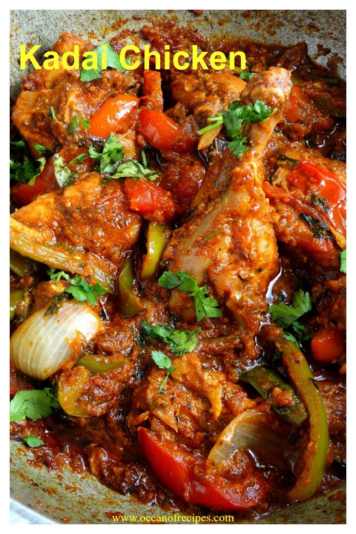 Kadai Chicken Chicken Karahi