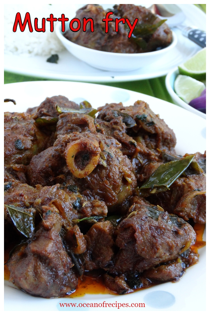 Mutton Fry South Indian Style